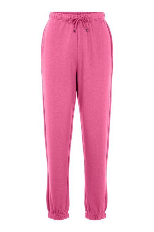 Pieces Bukser PC Chilli HW Sweat Pants Azalea Pink Front