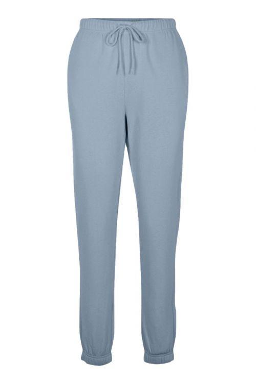 Pieces - Bukser - PC Chilli Summer HW Sweat Pants - Blue Fog
