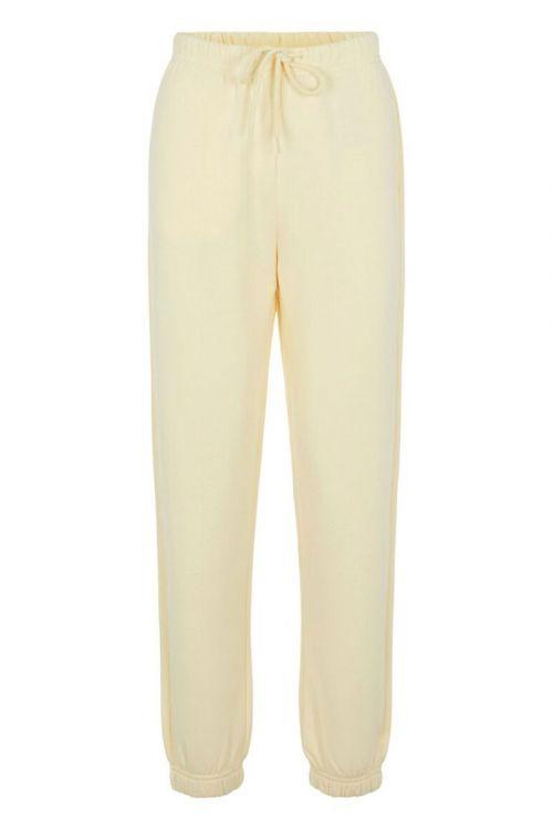 Pieces Bukser Chilli HW Sweat Pants Almond Oil Front