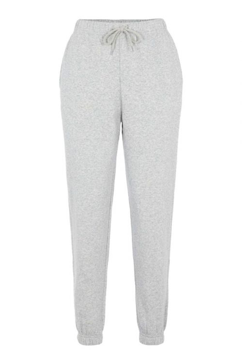 Pieces Bukser PC Chilli Sweat Pants Light Grey Melange Front