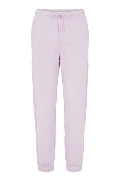 Pieces Bukser PC Chilli HW Sweat Pants Orchid Bloom Front