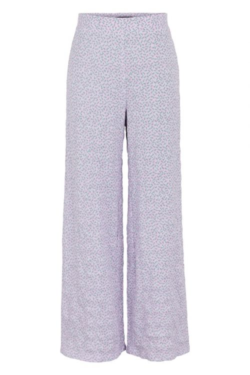 Pieces - Bukser - PC Lala HW Wide Pants - Orchid Bloom