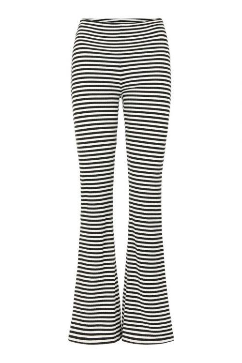Pieces - Bukser - PC Laya HW Flared Pants - Black