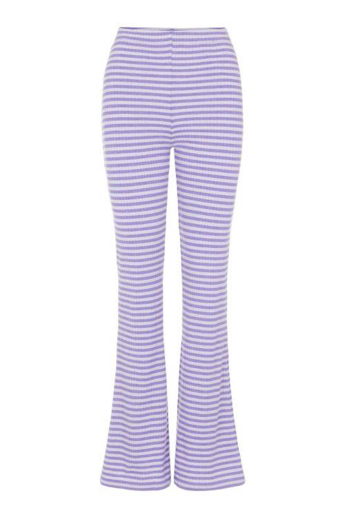 Pieces - Bukser - PC Laya HW Flared Pants - Dahlia Purple