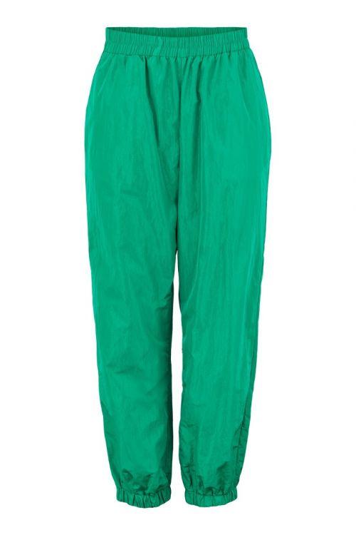 Pieces - Bukser - Napylla HW Pants - Forest Green (Levering i november)