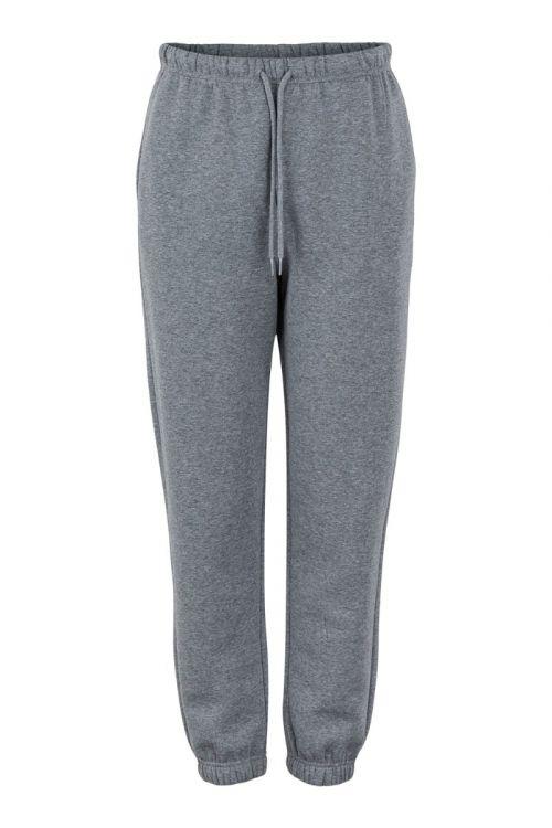 Pieces Bukser PC Chilli HW Sweat Pants Dark Grey Melange Front