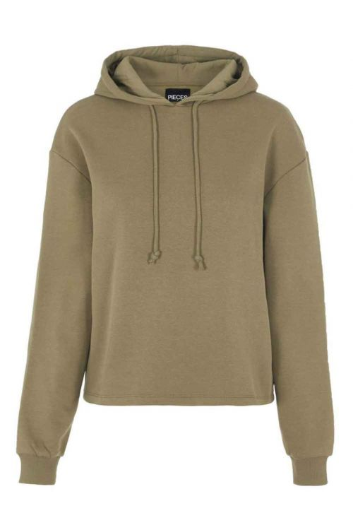 Pieces - Sweat - Chilli - Hoodie - Martini Olive