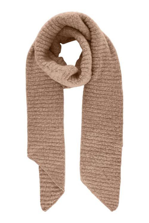 Pieces - Halstørklæde - PC Pyron Strucktured Long Scarf - Misty Rose