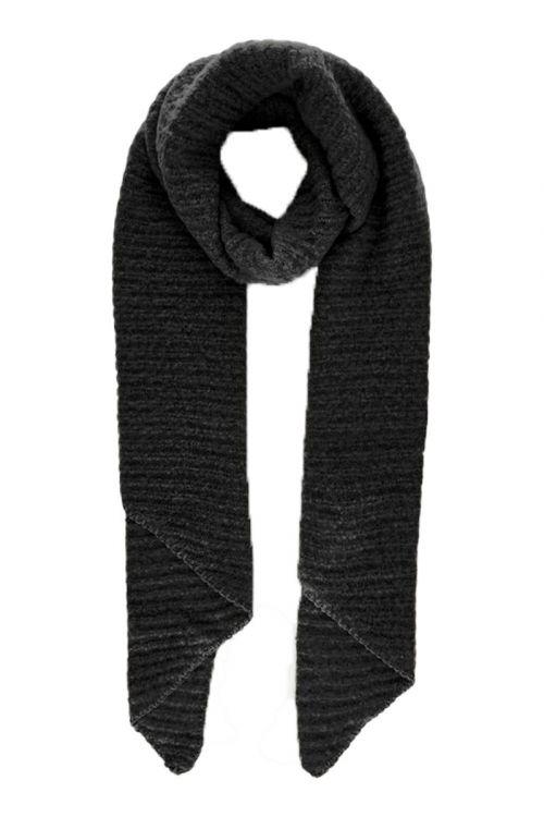 Pieces - Halstørklæde - PC Pyron Structured Long Scarf - Black