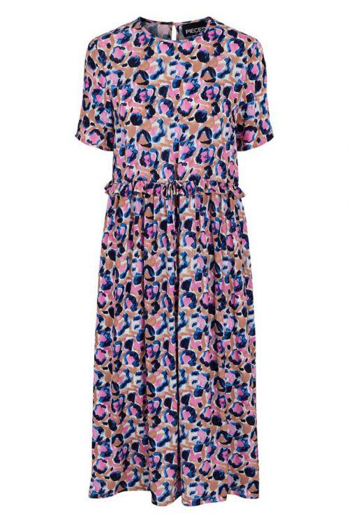 Pieces - Kjole - PC Cami SS Midi Dress - Misty Rose