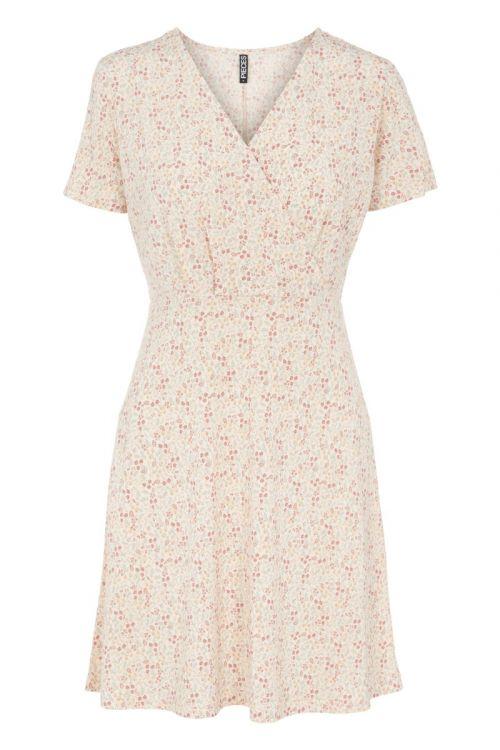 Pieces - Kjole - PC Emanuelle SS Dress - Buttercream