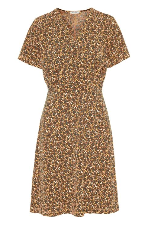 Pieces Kjole PC Emanuelle SS Dress Cobber Brown Front