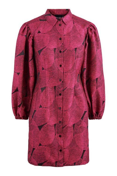 Pieces - Kjole - Fropa LS Dress - Azalea Pink (Levering i november)