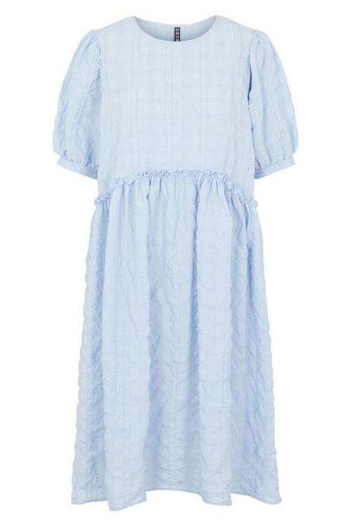 Pieces - Kjole - Ludmilla SS Dress - Kentucky Blue