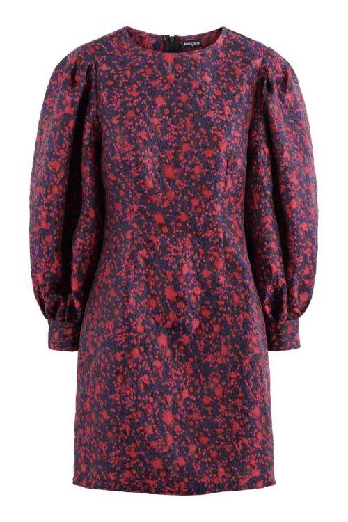 Pieces - Kjole - Musma LS Dress - Azalea Pink (Levering i november)