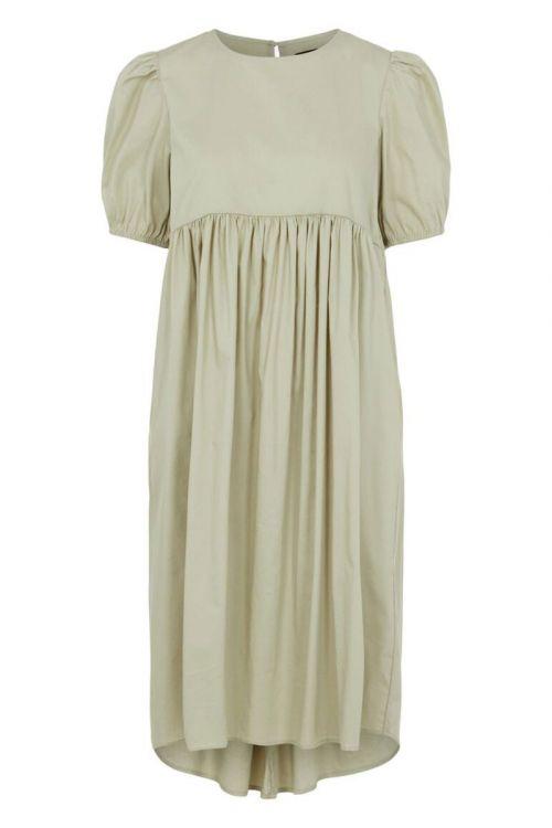 Pieces - Kjole - PC Olivia 2/4 Midi Dress - Desert Sage