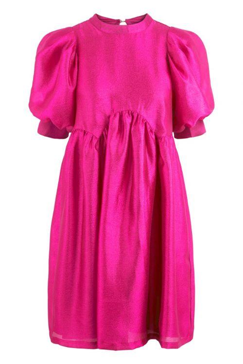 Pieces Kjole Mia Dress Orange Pink