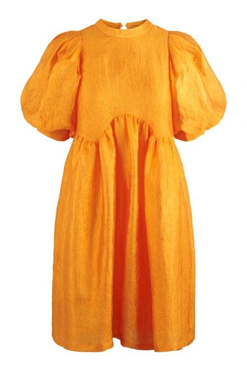 Pieces - Kjole - Mia Dress - Orange