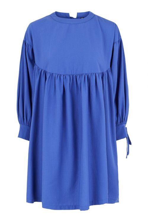 Pieces Kjole Sille Dress Deep Ultramarine Ditte Estrup Front