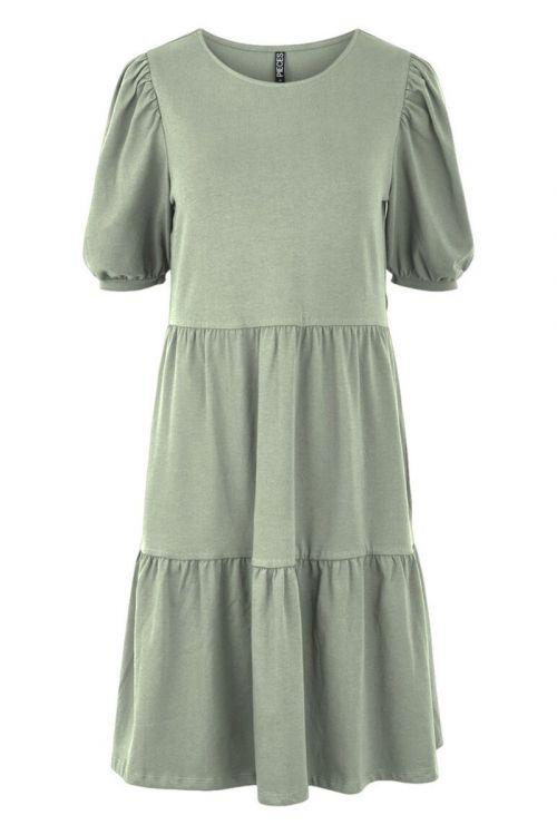 Pieces - Kjole - Terese SS Dress - Desert Sage