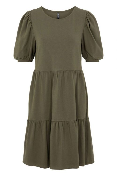 Pieces Kjole Terese SS Dress Sea Turtle Front