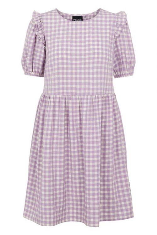 Pieces - Kjole - Vilja SS Dress - Dahlia Purple