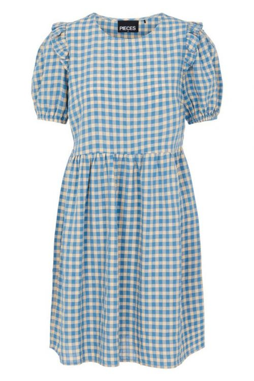 Pieces - Kjole - Vilja SS Dress - Little Boy Blue