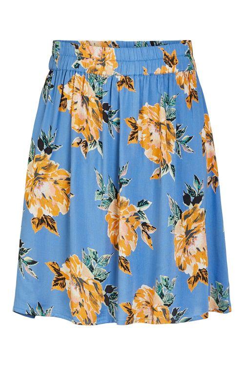 Pieces Nederdel PC Nya MW Skirt Regatta Front