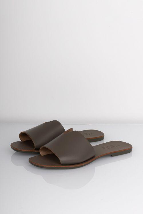 Pieces - Sandal - Nora Leather Sandal - Sea Turtle