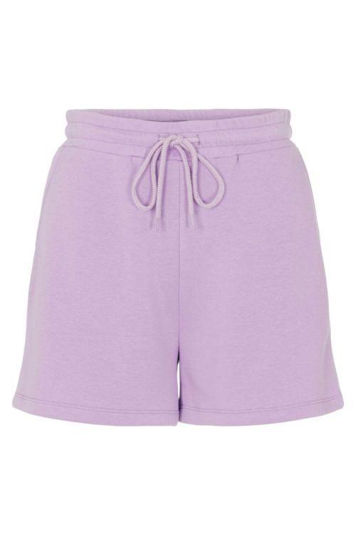 Pieces - Shorts - PC Chilli Summer HW Shorts - Sheer Lilac
