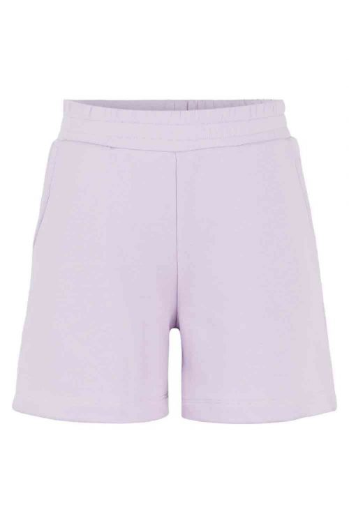 Pieces PC Liola HW Sweat Shorts Lounge Orchid Bloom Front