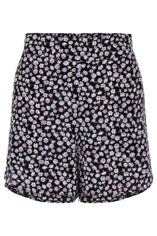 Pieces Shorts Nya HW Shorts Black Front