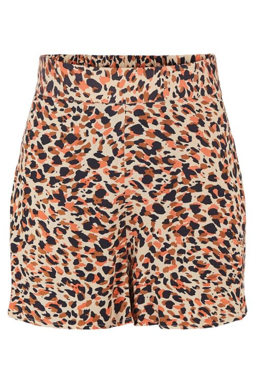 Pieces - Shorts - Nya HW Shorts - Apricot Cream/Leo