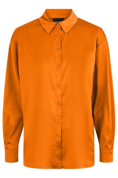 Pieces - Skjorte - Nora Oversized - Exuberance (Levering november)