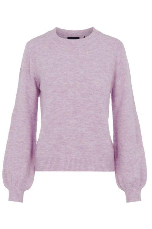 Pieces - Strik - PC Perla LS Knit - Lavender