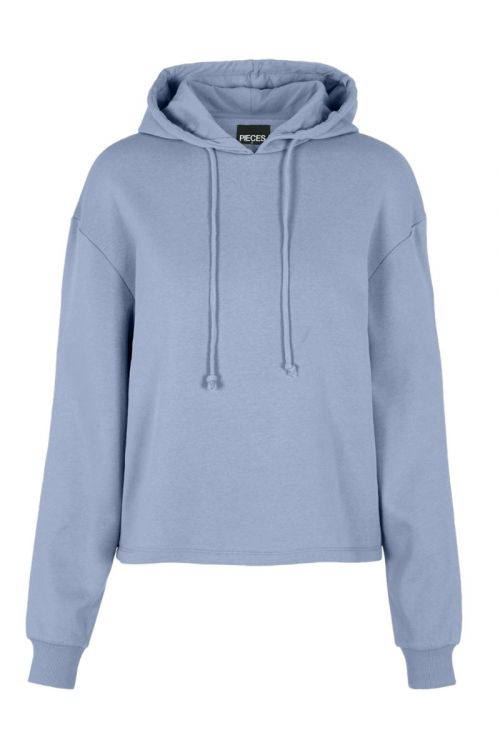 Pieces Sweat PC Chilli LS Hoodie Kentucky Blue Front
