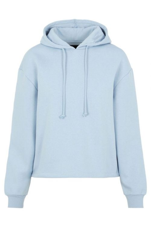 Pieces Sweat Chilli LS hoodie Blue Fog Front