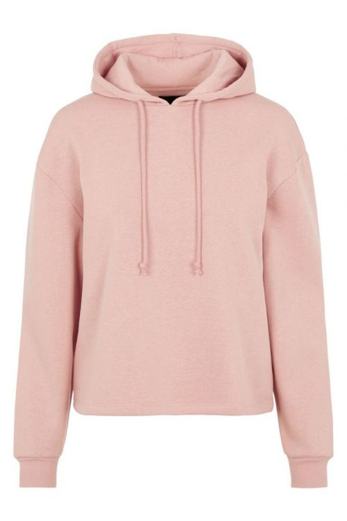 Pieces Sweat Chilli LS Hoodie Misty Rose Front