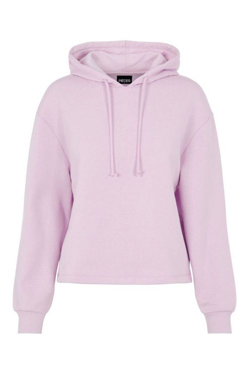 Pieces Sweat PC Chilli LS Hoodie Orchid Bloom Front