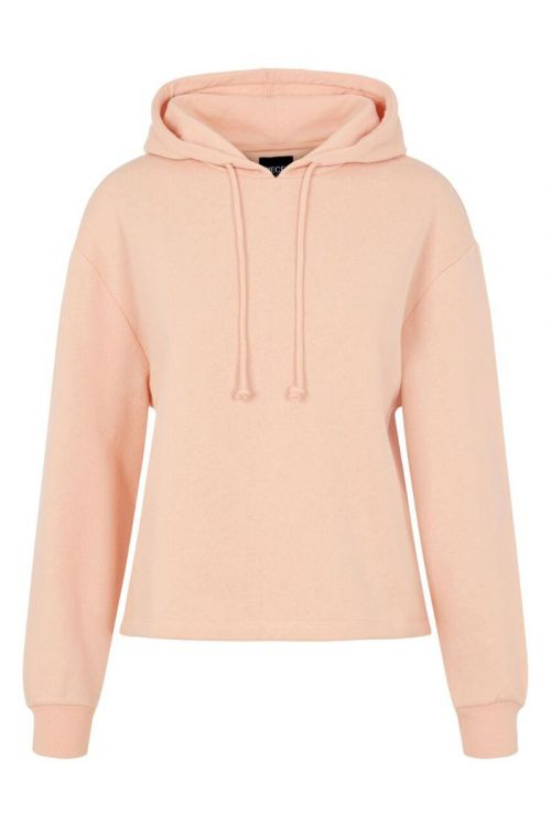 Pieces Sweat PC Chilli LS Hoodie Peachy Keen Front