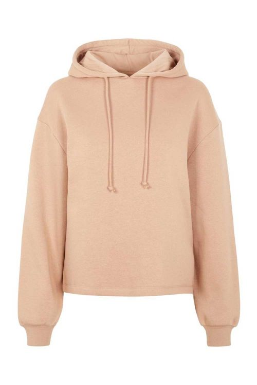 Pieces Sweat PC Chilli LS Hoodie Warm Taupe Front