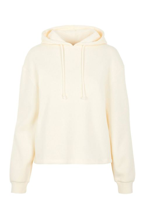 Pieces Sweat PC Chilli LS Hoodie White Pepper Front