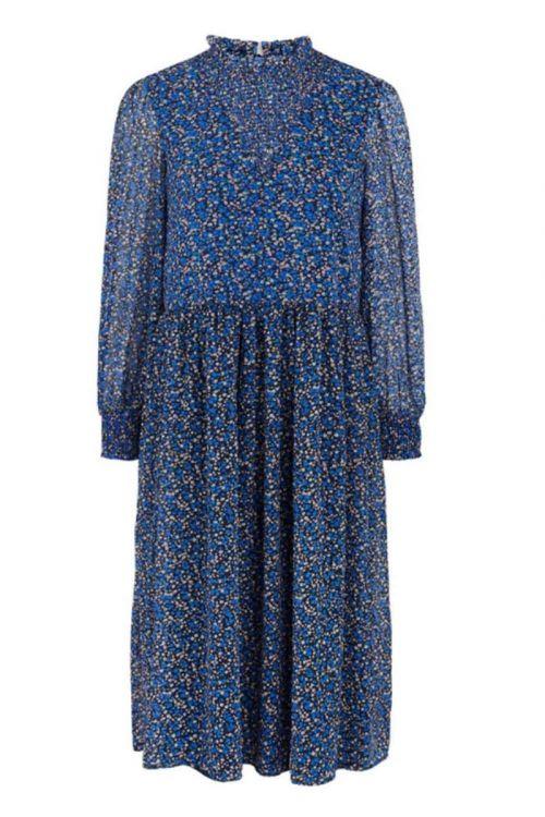 Pieces Kjole Tille Midi Dress Star Sapphire Front