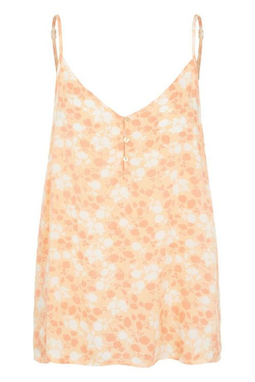 Pieces  Top  PC Nya Slip Top  Apricot Cream/FLW Front
