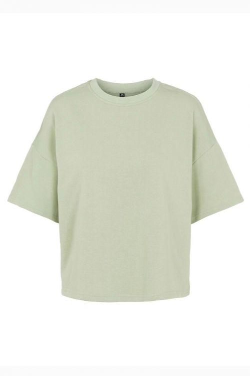 Pieces - T-shirt - PC Chilli Summer 2/4 Loose Sweat - Desert Sage