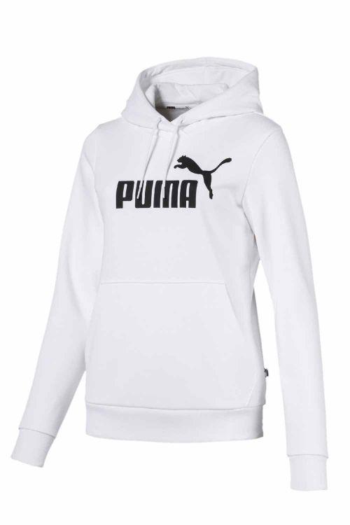 Puma  Sweatshirt  Hoody FL W  White Front