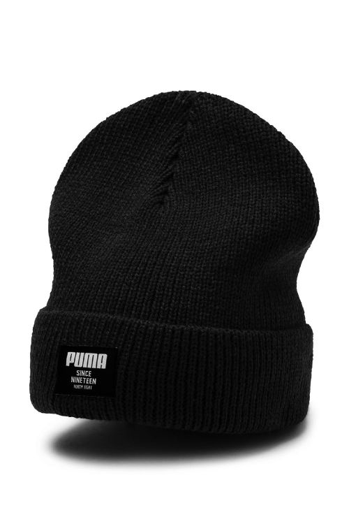 Puma - Hue - Ribbed Classic Beanie - Black