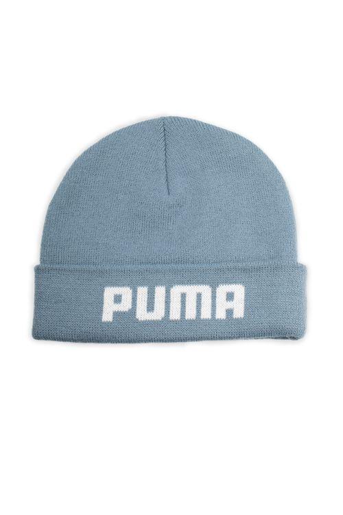Puma Hue Mid Fit Beanie Bluestone Front