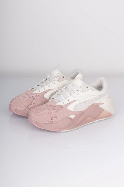 Puma Sko RS_X Colour Block Marshmallow/Peachskin Front