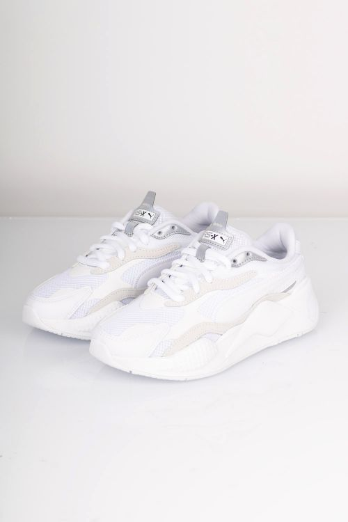 Puma - Sneakers - RS-X Puzzle - White/Silver